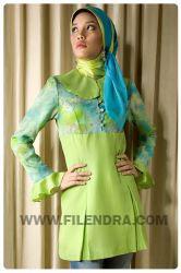 a905 greenery busana muslim baju muslim filendra beli h