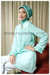 a901 white light busana muslim baju muslim filendra bel