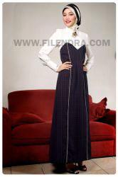 a919 elegant silky busana muslim baju muslim filendra b